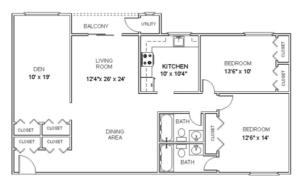 Hollandale Apartments floorplan