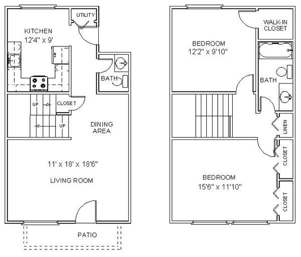 Floor Plans Apartments For Rent Clifton Park